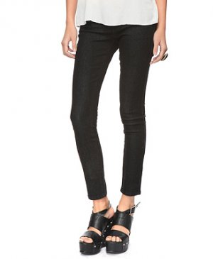 F21 Forever 21 Black Skinny Ankle Jean