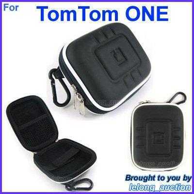 Black Carry Case Cover for TomTom ONE 125 SE 130 130�S 140 140�S Portable GPS Navigators