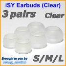 Replacement Ear Buds Tips for Skullcandy Asym TiTan iPhone FMJ Smokin INKD Riot Holua Striker @C