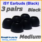 Medium Ear Buds Caps Tips for Philips SHE9500 SHE9550 SHE9700 SHE9800 SHN2500 In-Ear Headphones @B
