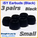 Small Ear Buds Caps Tips for Philips SHE9500 SHE9550 SHE9700 SHE9800 SHN2500 In-Ear Headphones @B
