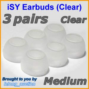 Medium Replacement Ear Buds Tip Cushion for Sony MDR EX51 EX55 EX71 EX75 EX81 EX85 EX90 NC22 EX52 @C