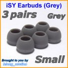 Small Ear Buds Caps Tips for Philips SHE9500 SHE9550 SHE9700 SHE9800 SHN2500 In-Ear Headphones @G
