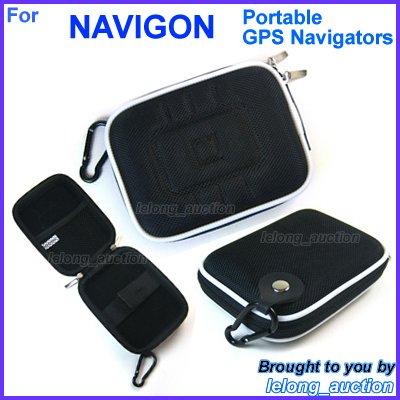 Black Carry Case Cover for NAVIGON 3300 3310 max / 4310 4350 max / 6300 6310 6350 Live / 7210 7310