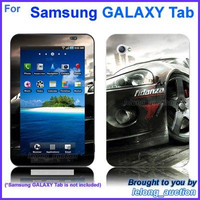 "Vinyl Skin Sticker Art Decal Racing Car Design for Samsung GALAXY Tab 7"" 7-inch Tablet"