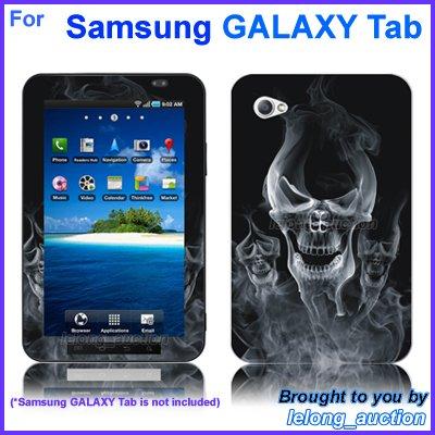 """Vinyl Skin Sticker Art Decal Spirit Skull Design for Samsung GALAXY Tab 7"""" 7-inch Tablet"""