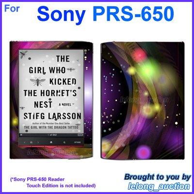 Vinyl Skin Sticker Art Decal Disco Shining Design for Sony PRS-650 Reader Touch Edition eReader