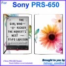 Vinyl Skin Sticker Art Decal Sunflower Design for Sony PRS-650 Reader Touch Edition eReader
