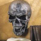 Spooky Skull Guardian Halloween Gothic Style Hanging  Wall Plaque Decor