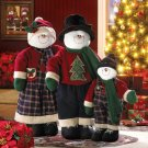 Super Sized Holly Jolly Decorative Floorstanding Christmas Snowman Family