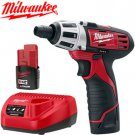 Milwaukee Heavy Duty Lithium-Ion Driver Lighted Rechargeable Drill & Screwdriver