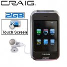Craig Rechargeable 2GB Touch Screen MP3 & Video Player