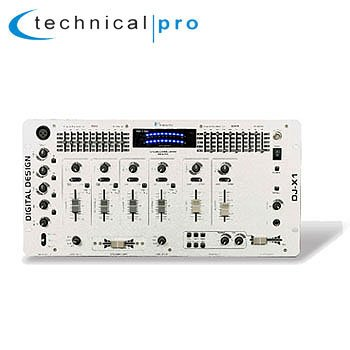 Technical Pro 4-Channel Professional Digital Mixer