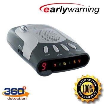 Early Warning Voice Alerts Laser & Radar Detector Fuzz Buster