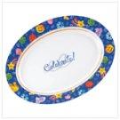 #37793 Celebrate! Oval Serving Platter