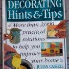 Decorating Hints &  Tips, Julian Cassell & Peter Parham