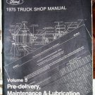 Ford 1975 Truck Shop Manual, volume 5