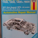 Haynes Subaru 1971 -August 1979 Automotive Repair Manual