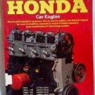 Honda How to Rebuild Your Car Engine