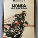 Honda Service and Repair Handbook All 450 Models 1965-1973