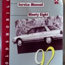 1992 Oldsmobile Ninety Eight Service Manual