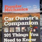 Popular Mechanics Car Owner&#39;s Companion 101 Things You Need to Know