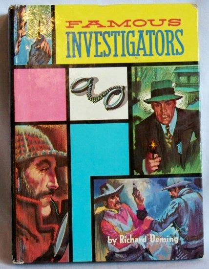 Famous Investigators, Richard Deming, Copyright 1963