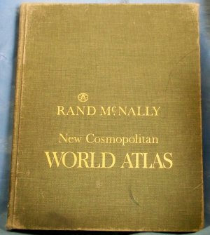 New Cosmopolitan World Atlas, Rand McNally