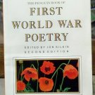 The Penguin Book of First World War Poetry, Jon Silkin