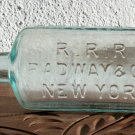 R. R. R. Radway & Co. New York medicine? bottle empty