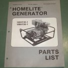 Details about  Homelite Generators, Parts List, Part No. 24960-A 185HY35-1 & 190HY50-1