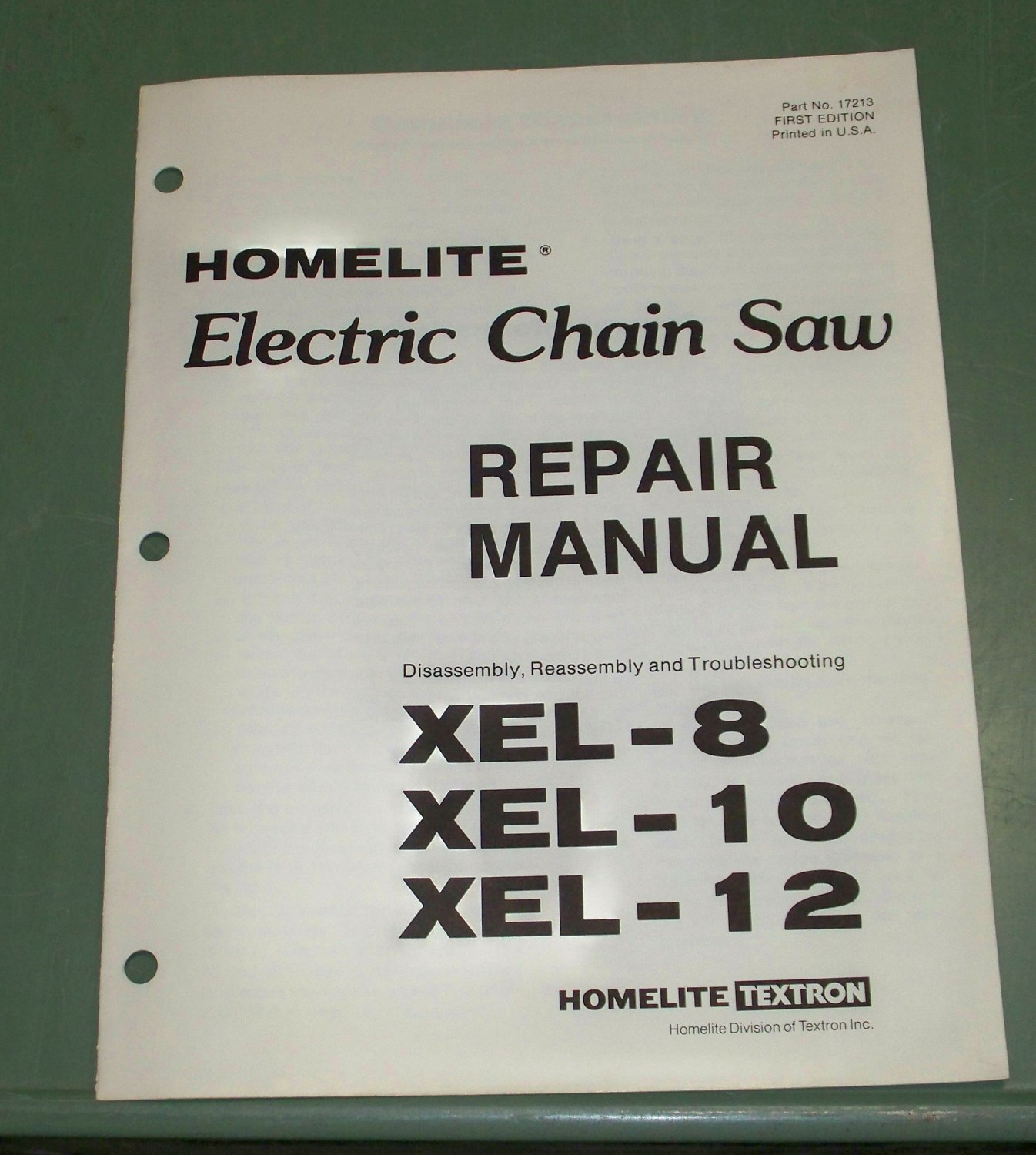 how to use homelite electric chainsaw
