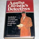 Agatha Christie's Detectives, by Agatha Christie, 5 complete novels