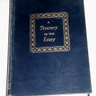 A Treasury of the Essay edited by Homer C. Combs