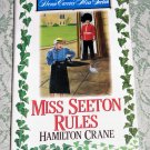 Miss Seeton Rules by Hamilton Crane, First Edition