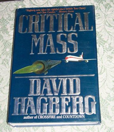 Critical Mass by David Hagberg, First Edition