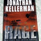 Rage by Jonathan Kellerman, First Edition