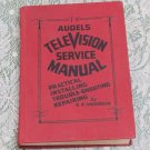 Television Service Manual 1953 Audels E.P. Anderson Illustrated