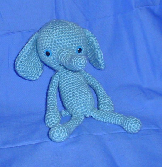 Elephant Amigurumi Japanese Anime Doll