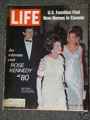 LIFE  MAGAZINE- July 17, 1970 - ROSE KENNEDY AT 80