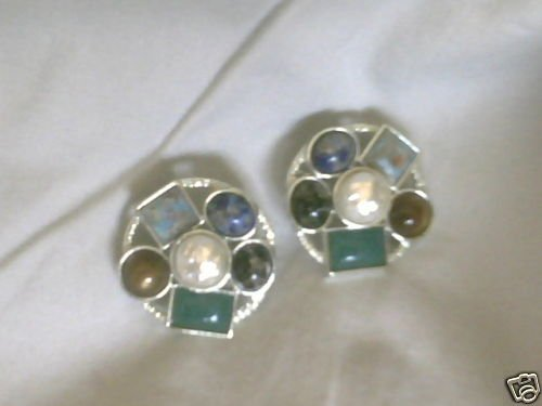 Vintage SARAH COVENTRY 'HAPPY HOLIDAY' CLIP ON EARRINGS
