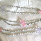 Vintage SARAH COVENTRY SIGNED 'PASTEL GLO'  NECKLACE