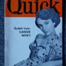 QUICK NEWS WEEKLY-Sept. 4, 1950- ELIZABETH TAYLOR Cover
