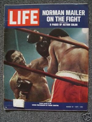 LIFE MAGAZINE - March 19, 1971 -ALI FRAZIER FIGHT Cover
