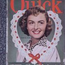 QUICK NEWS WEEKLY- FEB. 12, 1951-DONNA REED Cover