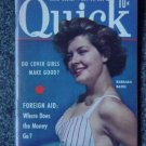 QUICK NEWS WEEKLY-Oct. 29, 1951 - BARBARA BATES Cover