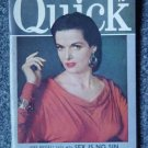 QUICK NEWS WEEKLY - Nov. 12, 1951 - JANE RUSSELL  Cover