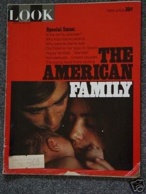 LOOK MAGAZINE- Jan 26, 1971 - THE AMERICAN FAMILY