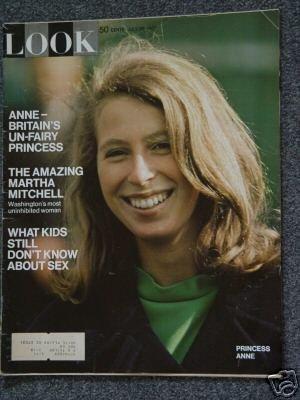 LOOK MAGAZINE- July 28, 1970 - PRINCESS ANNE