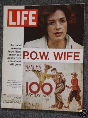 LIFE  MAGAZINE- Sept 29, 1972 - VIETNAM P.O.W. WIFE